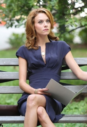 Hilarie Burton On The Set Of WhiteCollar