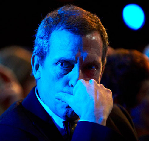 Hugh laurie-British Academy- London, on Feb.10.2008.