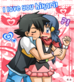 I love you Hikari - pearlshipping fan art