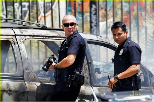 Jake Gyllenhaal: 'End of Watch' with Michael Pena