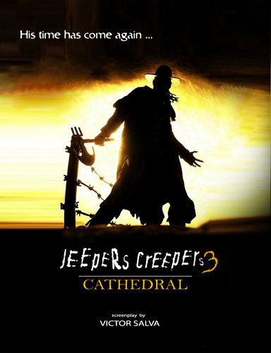 Horror films achtergrond containing a sunset and anime entitled Jeepers Creepers 3