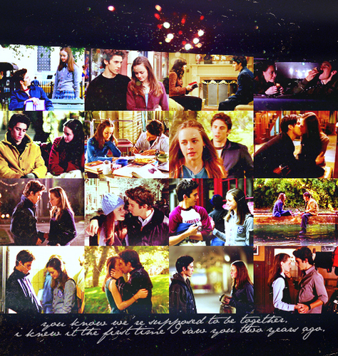 Jess Mariano wallpaper called Jess and Rory ♥
