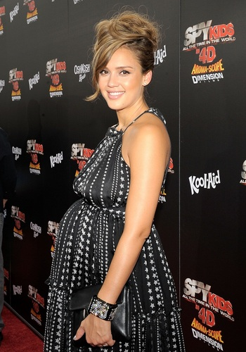 "Jessica - ""Spy Kids: All The Time In The World 4D"" Los Angeles Premiere - July 31, 2011"