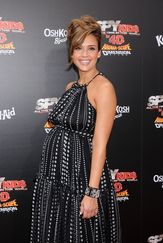 """Jessica - """"Spy Kids: All The Time In The World 4D"""" Los Angeles Premiere - July 31, 2011"""