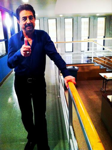 Joe says thumbs up