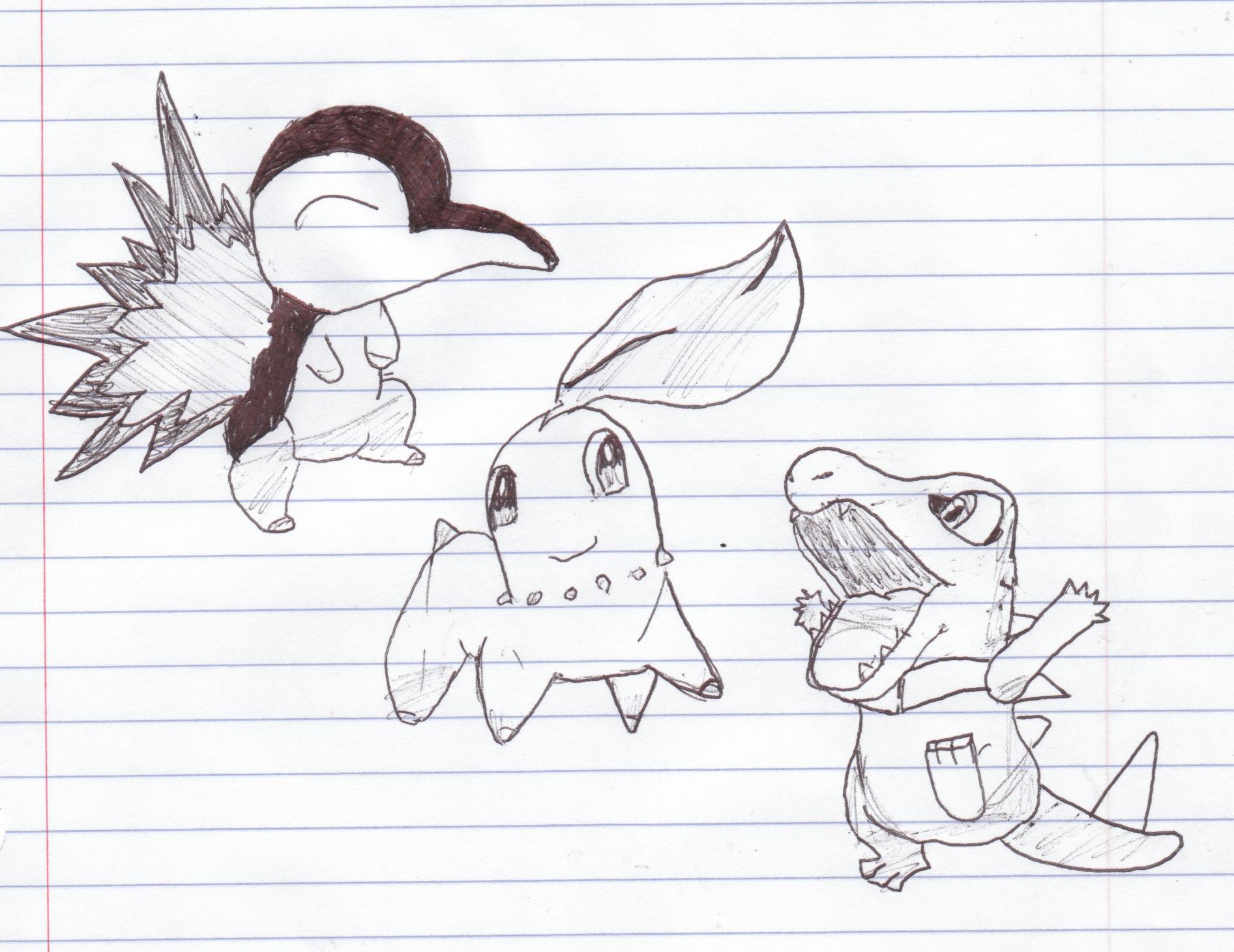 Cool Pokemon Starters Fan Art