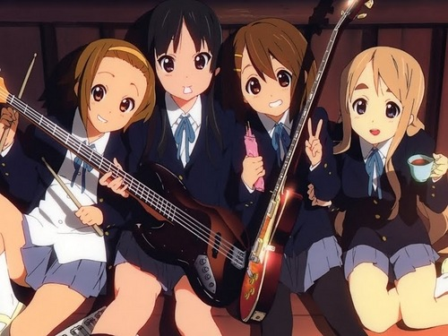 K-on season 1 Don't say lazy and k-on season 2