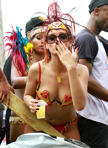 Rihanna wallpaper titled Kadoomant Day Parade In Barbados 1 08 2011