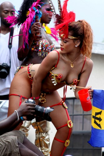 Rihanna wallpaper called Kadooment Day Parade in Barbados 1 08 11