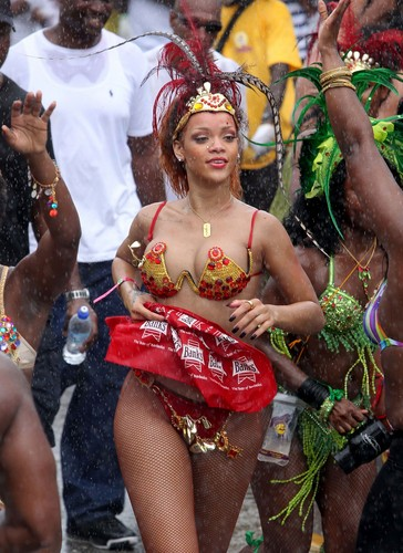 Kadooment Day Parade in Barbados 1 August 2011
