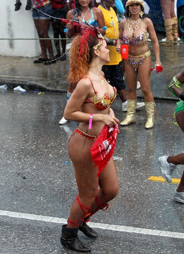 Kadooment день Parade in Barbados 1 August 2011