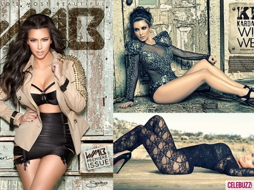 Kim Kardashian's WMB 3-D photo Shoot