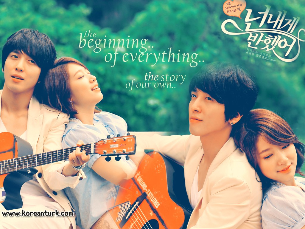 Lee Shin& Lee Kyu Won - youve-fallen-for-me-heartstrings wallpaper