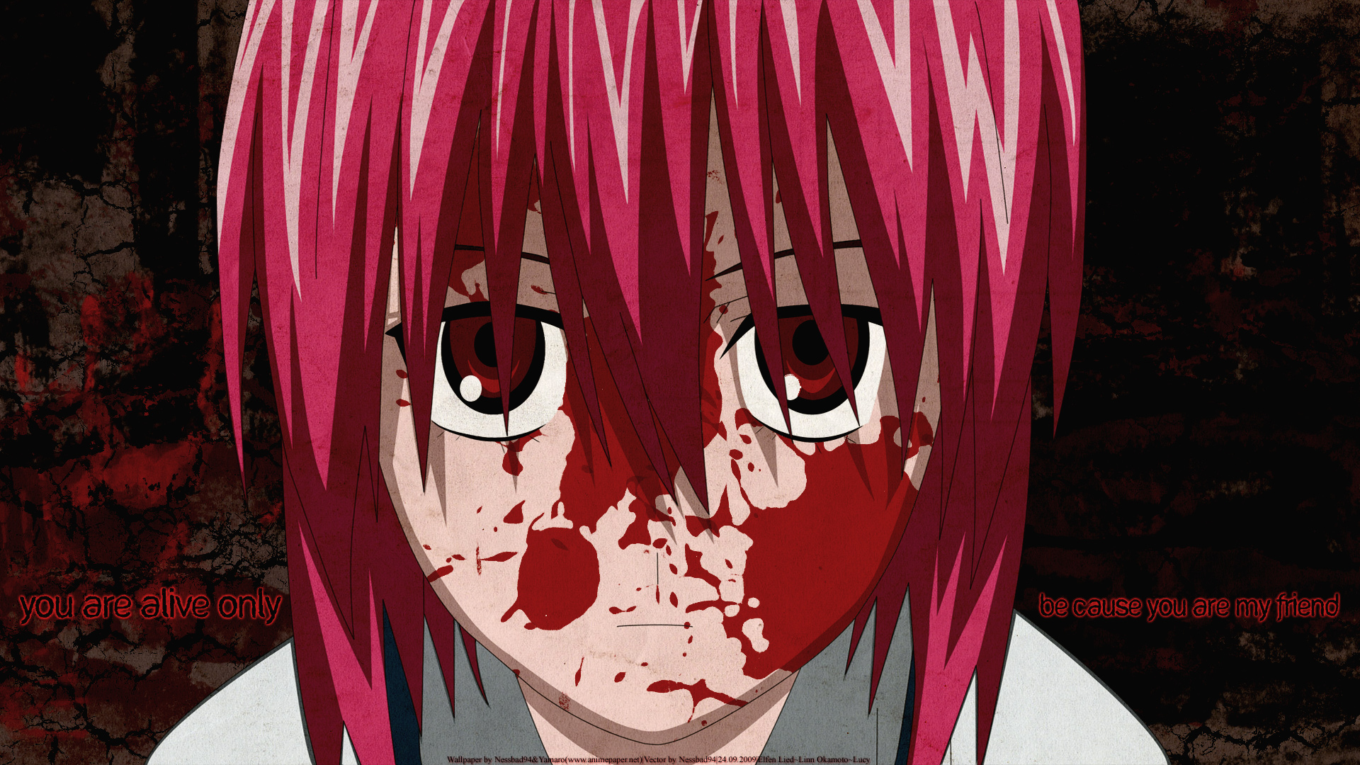 Download Anime Elfen Lied