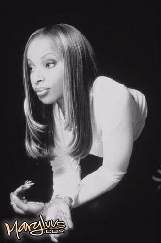 MARY J BLIGE 1997 foto SHOOT