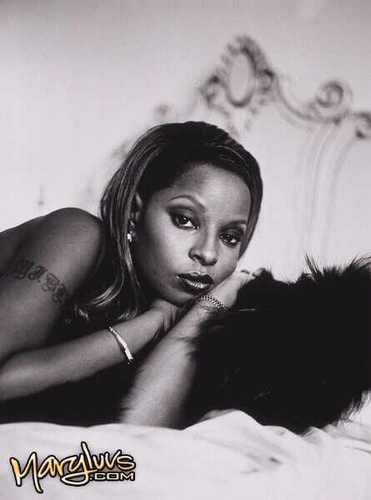 MARY J BLIGE 1997 foto SHOOT