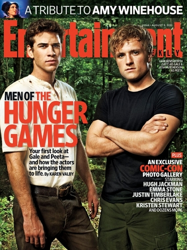 Magazine scans: Entertainment Weekly - August 5, 2011
