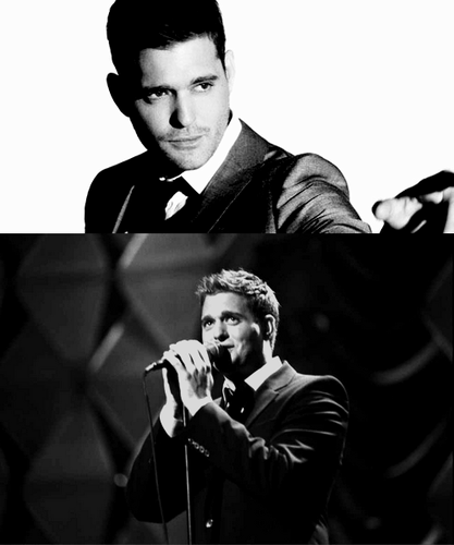 Michael Bublé wallpaper containing a business suit titled Michael B.
