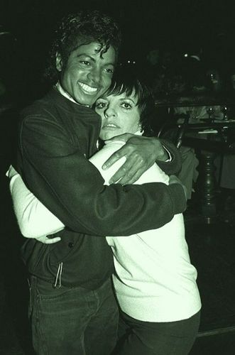 Michael Jackson and Liza Minnelli