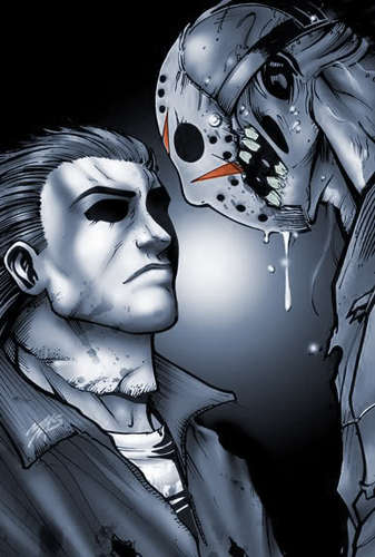 Michael Myers vs Jason Voorhees.. I choose Michael!