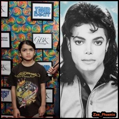 Michael and Blanket Look Alike