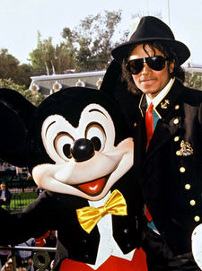 Michael and Mickey topo, mouse