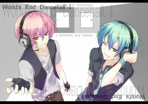 Mikuo and luki world's end dance hall