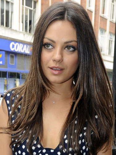 Mila arrives at Radio 1 in London, August 2