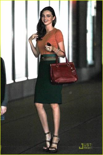 Miranda Kerr: Business Lunch Meeting!