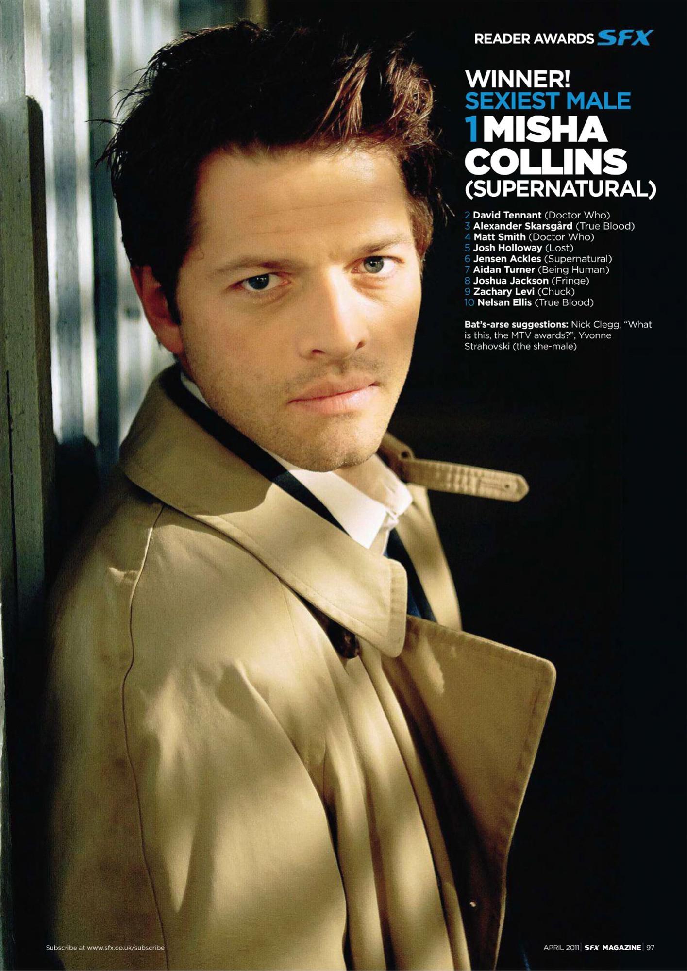 Misha Collins Net Worth