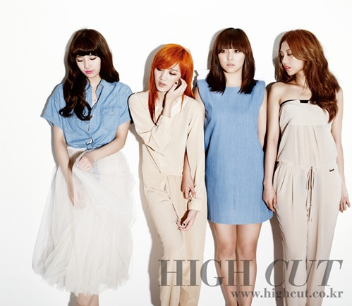 Miss A High cut