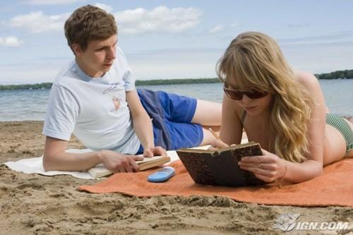 Nick and Sheeni at the playa