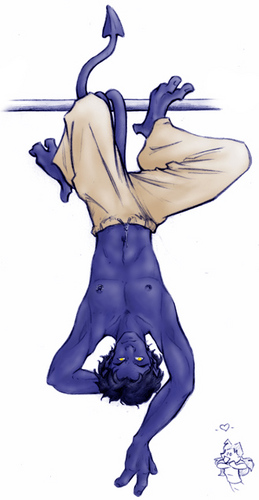 Nightcrawler achtergrond possibly with anime titled Nightcrawler