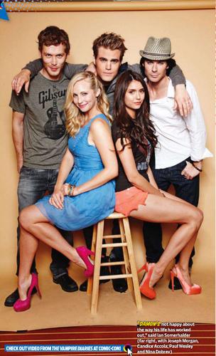 Nina - TV Guide Magazine - August 2011