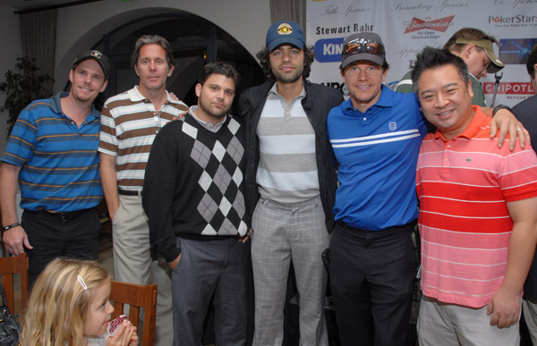 November 9 2009 - The Mark Wahlberg Entourage Celebrity Golf Tournament