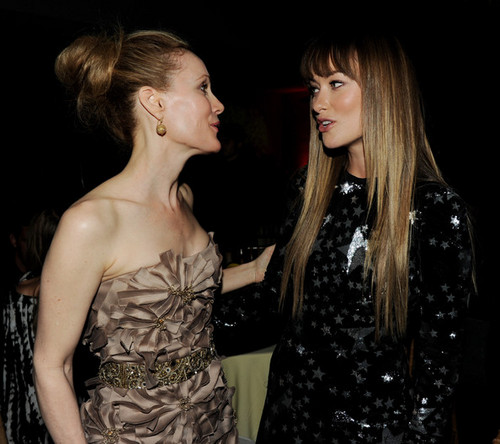 olivia wilde wallpaper entitled Olivia Wilde & Leslie Mann @ 'The Change-Up' Premiere After Party