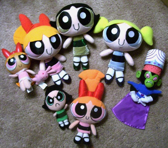 Amazoncom: powerpuff girls dolls