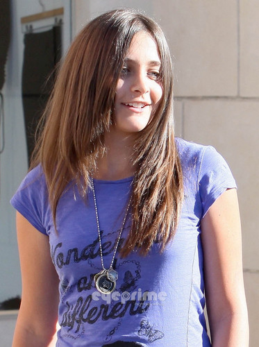 Paris and Prince Jackson out shopping in Calabasas, Aug 1