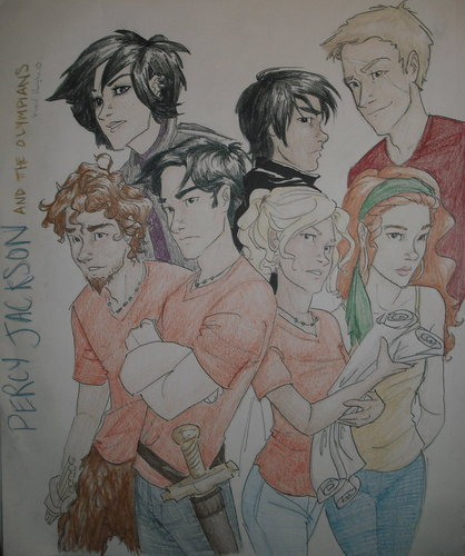 Percy Jackson And Gang