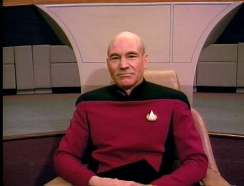 Star Trek-The Next Generation wallpaper probably containing dress blues called Picard