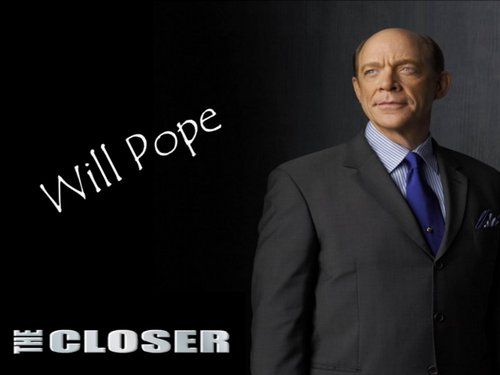 The Closer wallpaper containing a business suit, a suit, and a single breasted suit entitled Pope