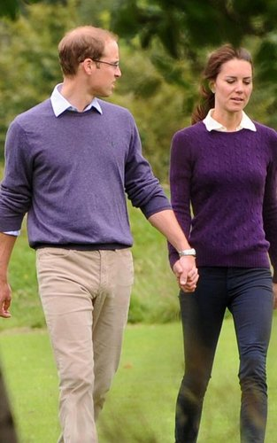 Prince William & Kate's Hollyrood Park Stroll
