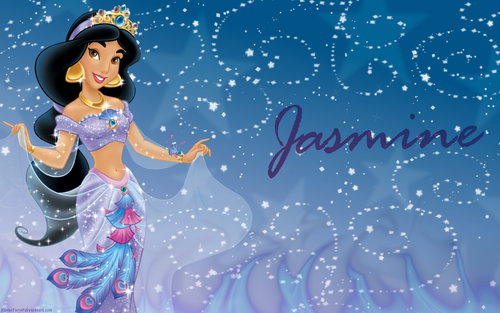 Aladdin wallpaper called Princess Jasmine