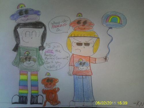 Rainbow Monkey Carnival