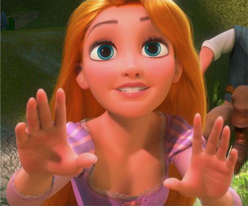 Rapunzel with Cinderella's color scheme