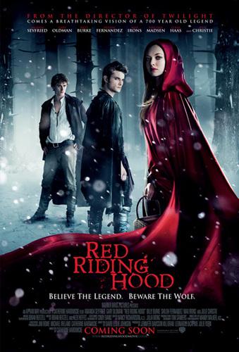 Red Riding cappuccio Posters