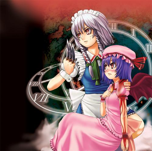 Sakuya and Remilia