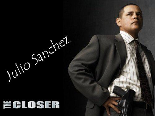 The Closer wallpaper containing a business suit, a suit, and a three piece suit entitled Sanchez