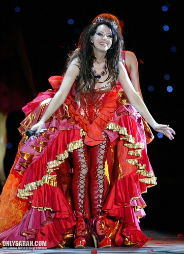 sarah brightman wallpaper possibly with a makan malam dress titled Sarah Brightman