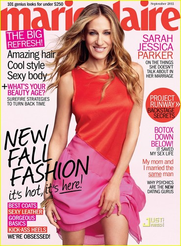 Sarah Jessica Parker Covers 'Marie Claire' September 2011